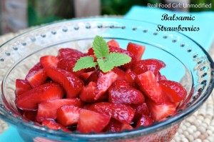 Fresh Balsamic Strawberries by Real Food Girl: Unmodified