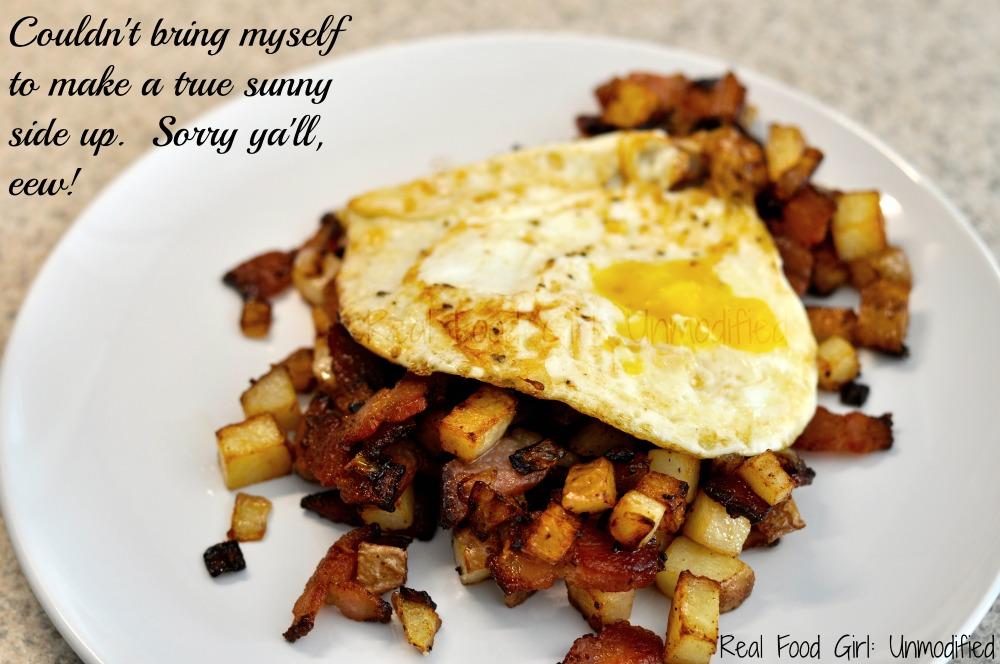 Real Food Yankee Breakfast Hash by Real Food Girl: Unmodified