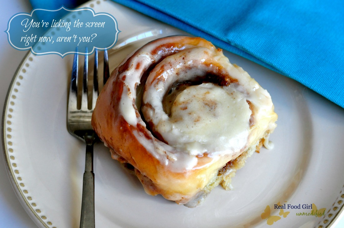 Better than Cinnabons by Real Food Girl: Unmodified