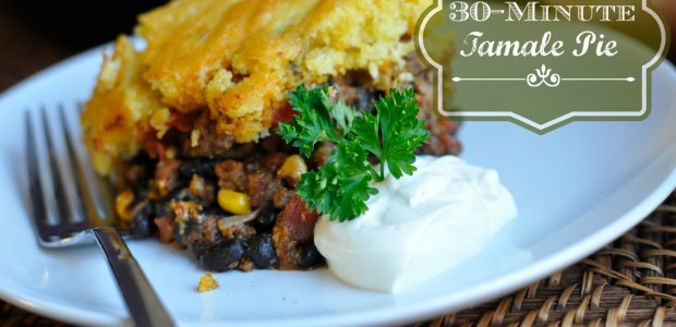 Real Food Girl Unmodified 30-Minute Meals- Skillet Tamale Pie. This looks SO good!