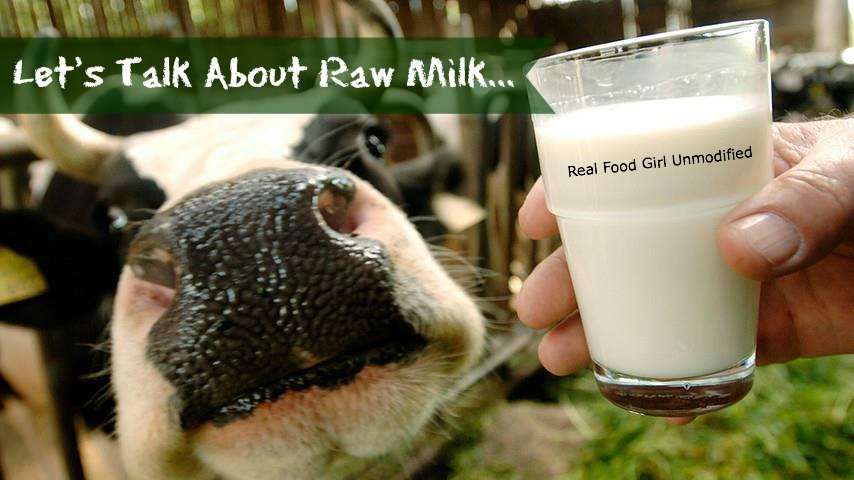 Raw Milk vs. Pasteurized by Real Food Girl Unmodified