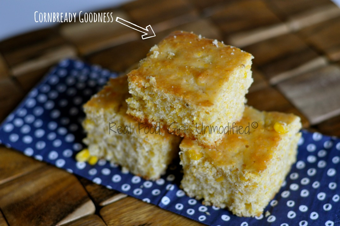 Skillet Honey Cornbread by Real Food Girl Unmodified