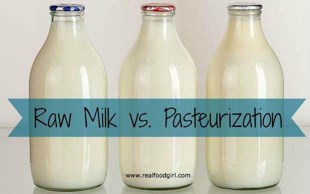 Raw milk vs. pasteurization by Real Food Girl Unmodified