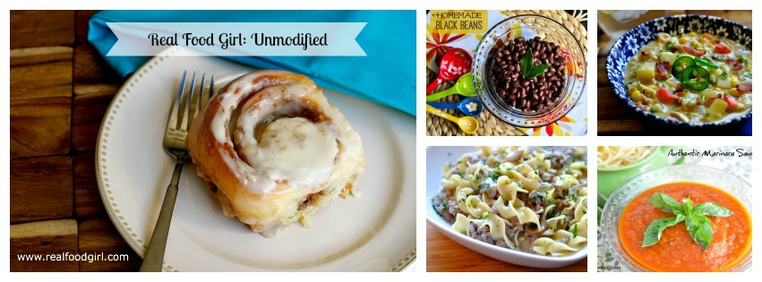 Real Food Girl Unmodified Favorite Things March 2014