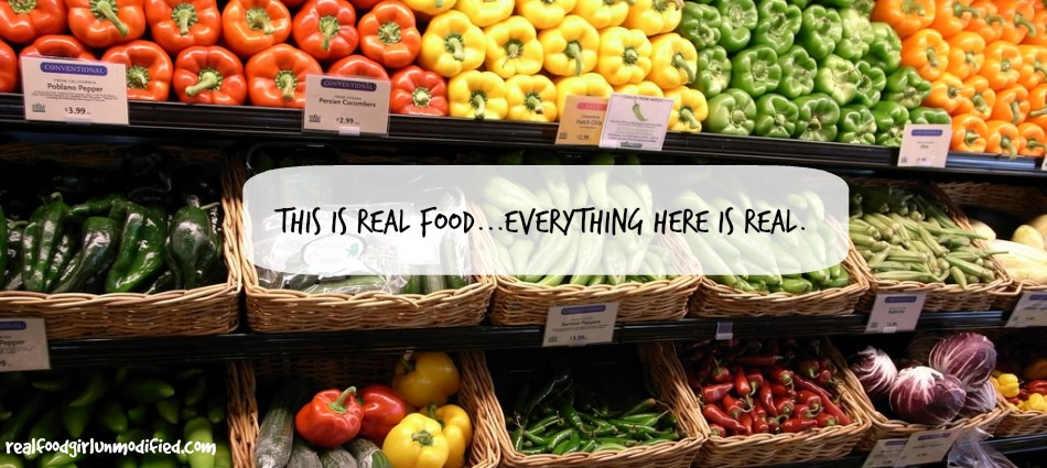 Real Food Girl: Unmodified Talks Dirty Dozen and Real Food at We Know Stuff