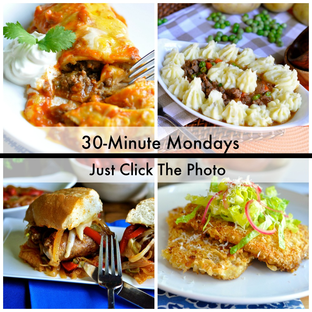 30-Minute Mondays by Real Food Girl: Unmodified