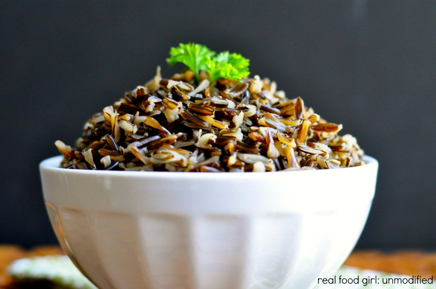 How to cook the perfect wild rice by Real Food Girl Unmodified