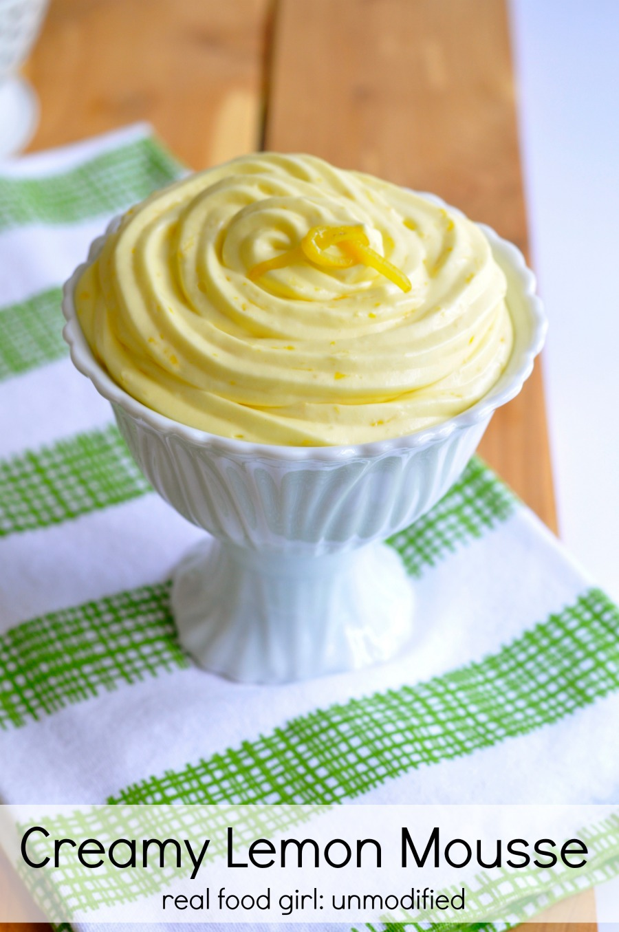 Lemon Curd Mousse- look out folks, berries have a new best friend. So does your dessert spoon!
