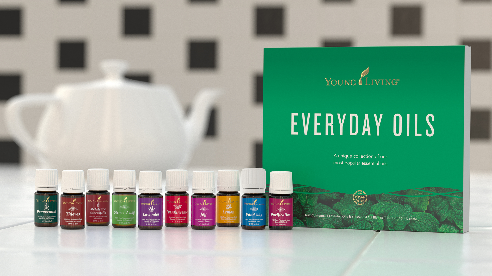 Everyday Oils Collection by Young Living. EO Safety Real Food Girl