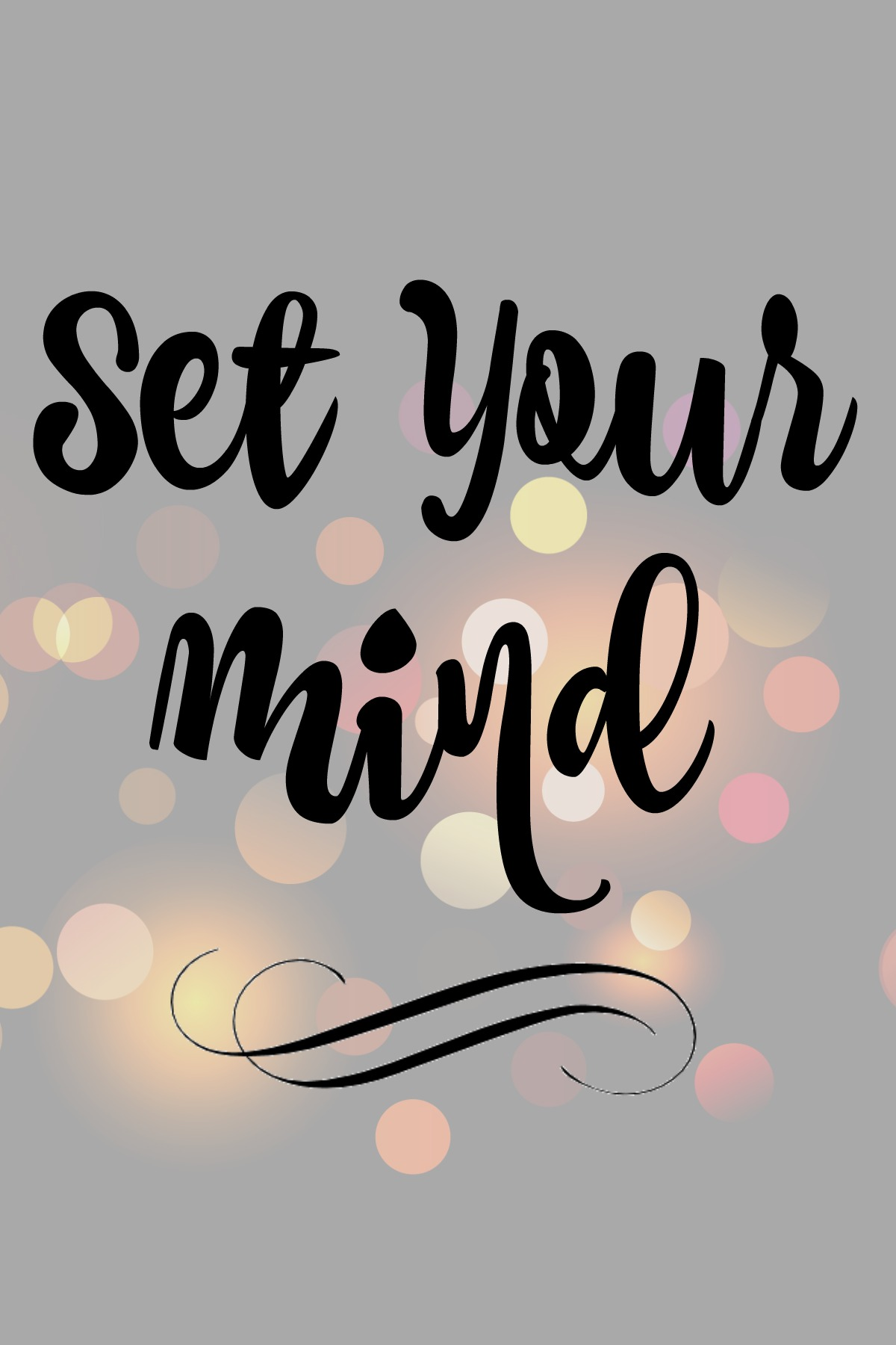 Set your Mind for--success Real Food Girl